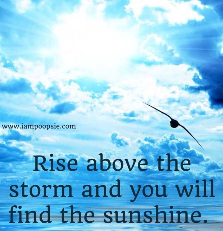 Sunshine quote via www.IamPoopsie.com