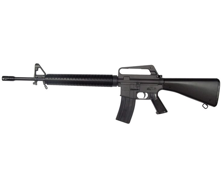 M16 rifle, For me, It was a very accurate weapon. Qualified expert with it, but if it ever got dirty you had better have a secondary weapon because it would jam every time.