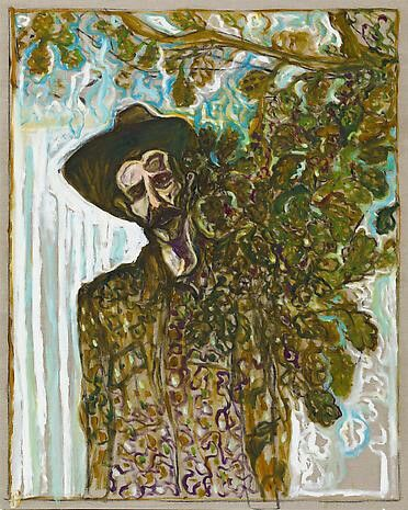 """""""Edge of the Forest"""" by Billy Childish, 2013"""