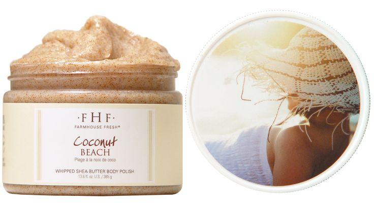 FarmHouse Fresh Coconut Beach Shea butter and sugar body scrub