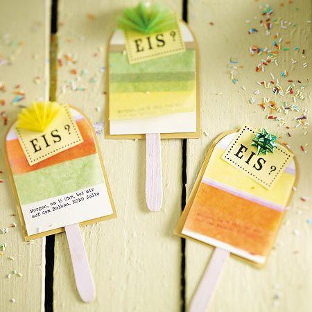 Einladungskarten Basteln   Die Schönsten Ideen