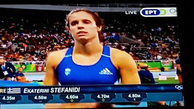 Δημιουργία - Επικοινωνία: Rio 2016 :Με φώτο Κατερίνα Στεφανίδου ετσι φτάσαμε...