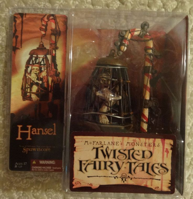 McFarlane Monsters Twisted Fairy Tales Series 4 Hansel Action Figure #McFarlaneToys