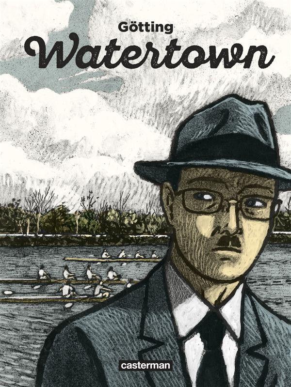 Watertown | Une BD de Jean-Claude Götting  chez Casterman - 2016. Une fable subtile sur les différents regards que l'on peut porter sur un événement (ou une suite d'événements). Magnifique !