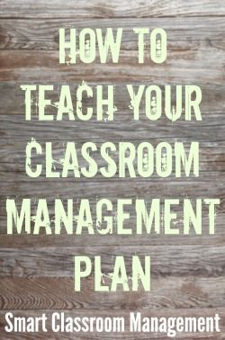Of all the responsibilities you have on the first day of school, teaching your classroom management plan is número uno in importance. After all, your success as a teacher hinges on your ability to manage your classroom. That's just the way it is. Teachers who are nonchalant about classroom management, or who see it as …