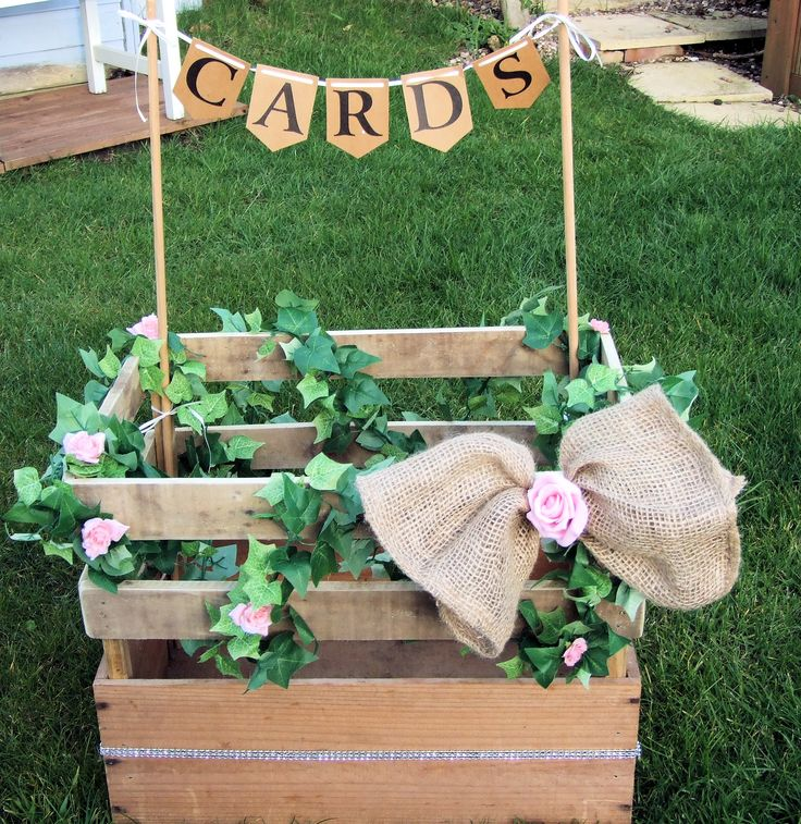 Wedding Card Crate