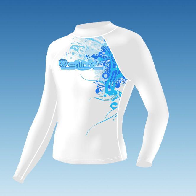 Slinx защита от солнца UPF 50 + мужчин и женщин сыпь лайкра гидрокостюм тела костюм Rashguard для подводного плавания виндсерфинг