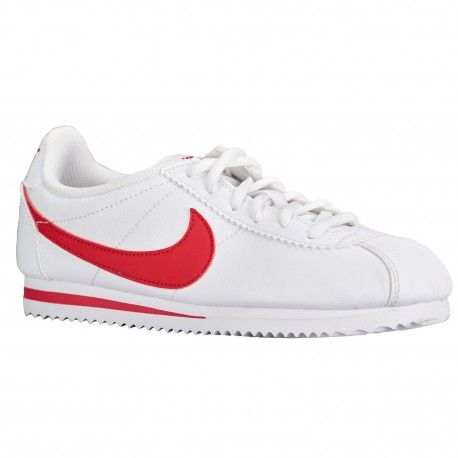 Nike Cortez - Boys' Grade School - Running - Shoes - White/University  Red-sku:49482103