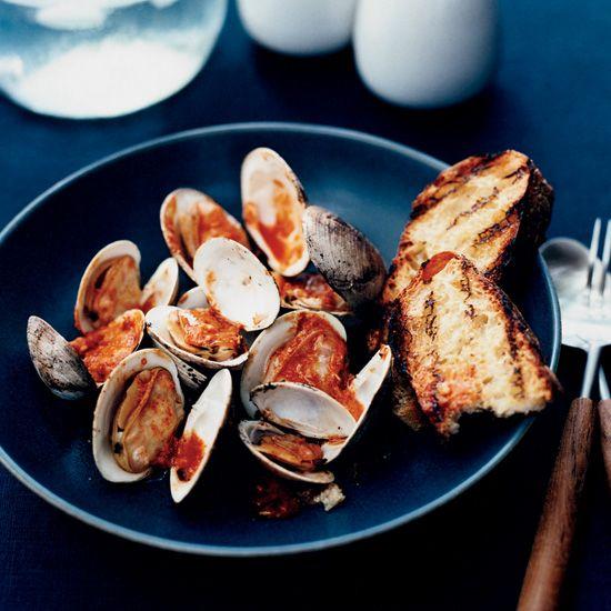 Clams on Food & Wine