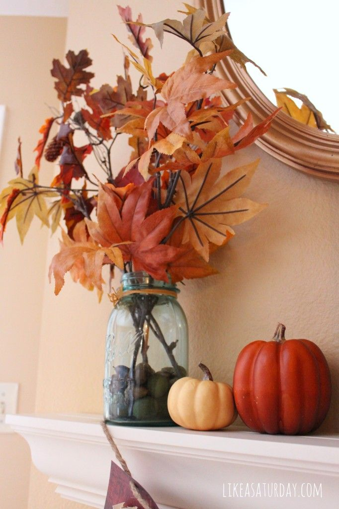 Best Canadian Autumn And Thanksgiving Images On Pinterest - Delicate fall decor ideas for this autumn