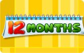 Learn the months of the year with this interactive educational game. This game is suitable for preschool and kindergarten.