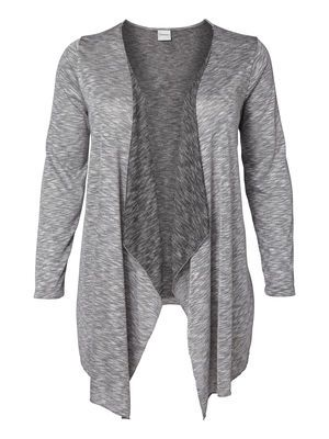 It's all about the layers. Go day-to-night in plus size cardigan from JUNAROSE #junarose #plussize #cardigan