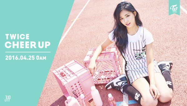 "TWICE Releases Tzuyu, Sana, and Chaeyoung Teaser Photos for ""Cheer Up"" 