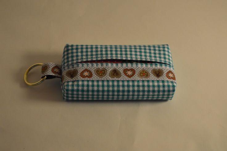 Taschentuch - Tasche, Tatütata, Bayerisch  von Nicole's Nähkram auf DaWanda.com