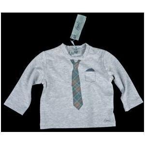 Long-sleeve stropdas grijs, voor de stijlvolle kleinste mannen. Op www.shopwiki.nl #baby