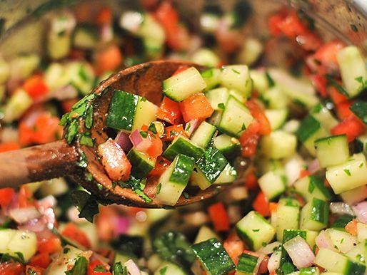 Salad Recipes, Israeli Couscous Salad, Israel Salad, Israeli Salad