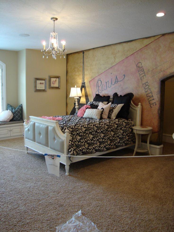 Teen Girl s Paris Bedroom. 25  best ideas about Girls Paris Bedroom on Pinterest   Paris
