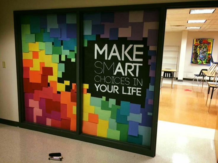 Best 25 school murals ideas on pinterest community art for Art room decoration school