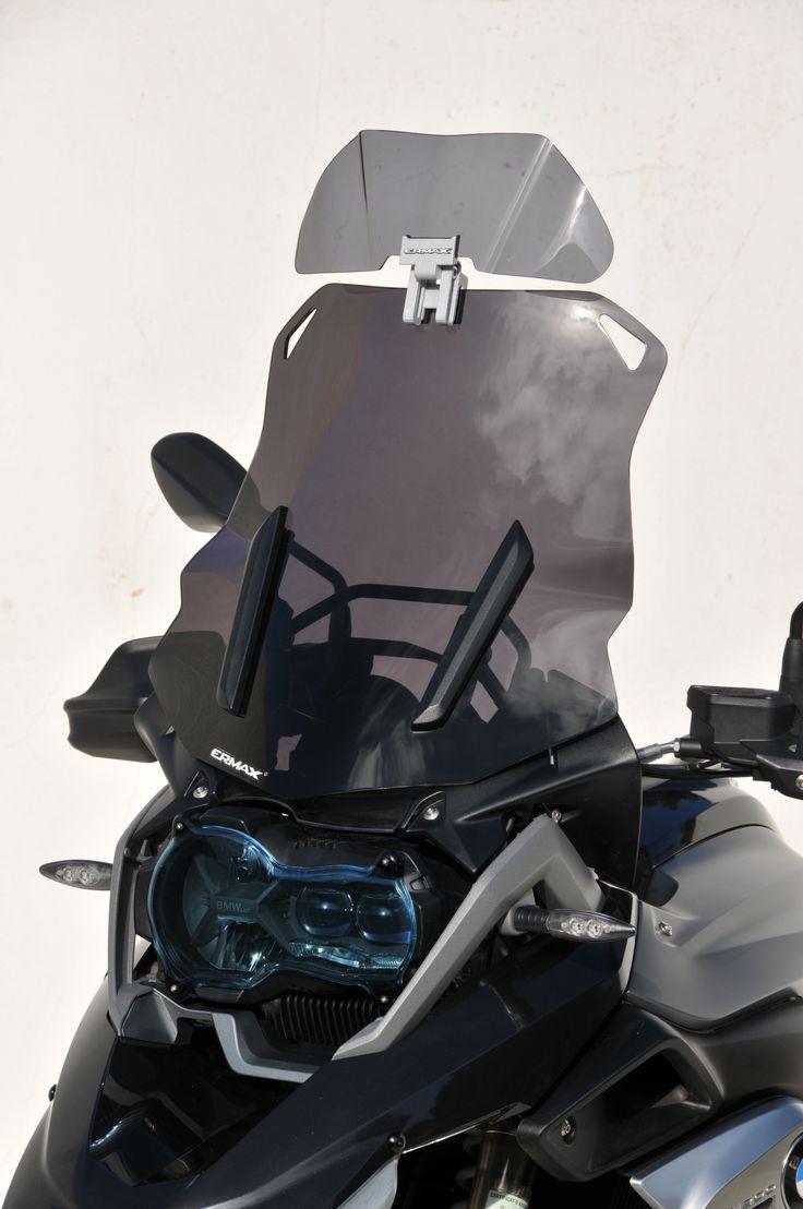 Clic & Flip windshield extension adjustable BMW R 1200