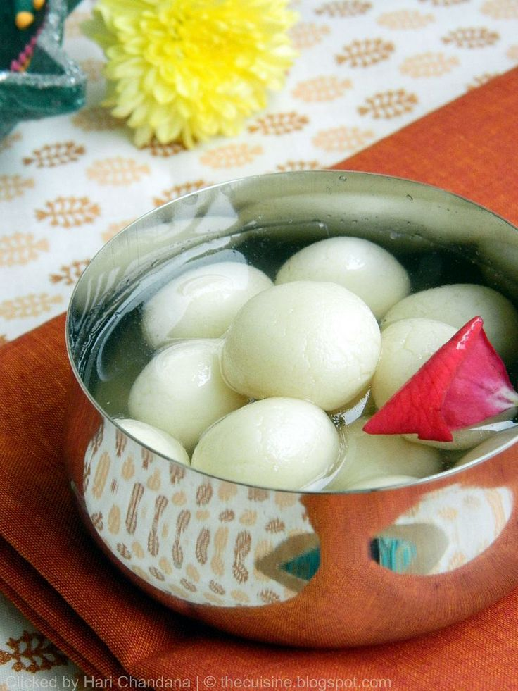 Bengali Rasgulla - Step by Step Recipe - Diwali Sweets Recipes | Indian Cuisine