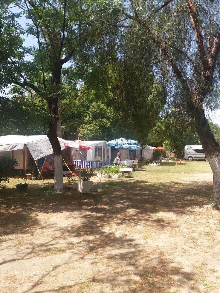 Karavan kampı kuşadası yat kamping
