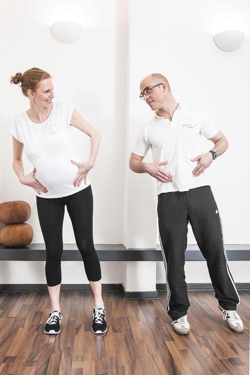 Fit fürs Baby – Übungen und Tipps während der Schwangerschaft #mom #momtobe #…
