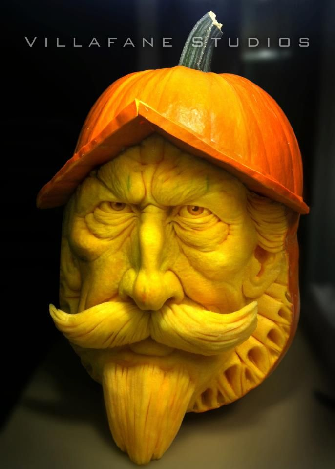 Best Pumpkin Carvings Images On Pinterest Food Amazing - Mind blowing pumpkin carvings by ray villafane 2