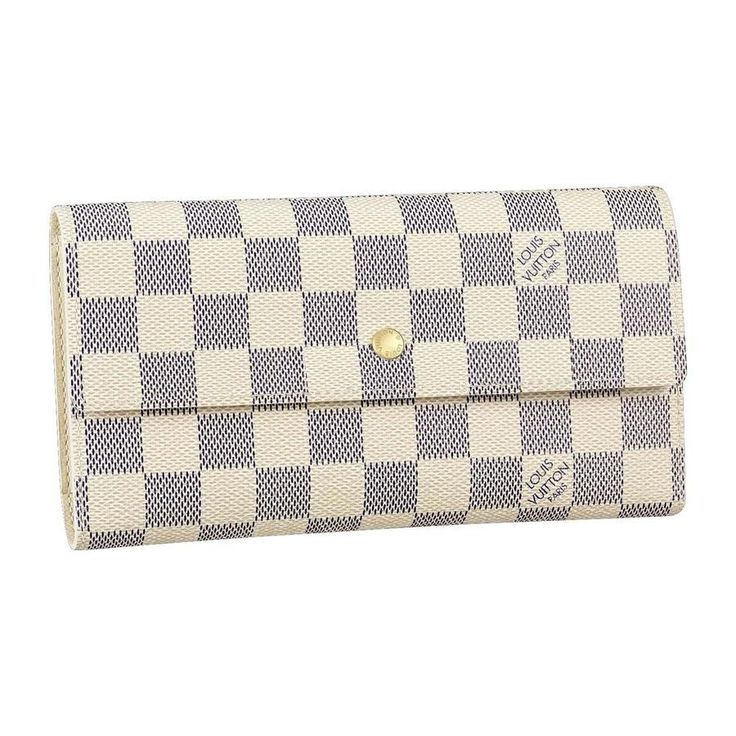 Louis Vuitton International Wallet Damier Azur Canvas N61732.... I need this to match my beautiful purse