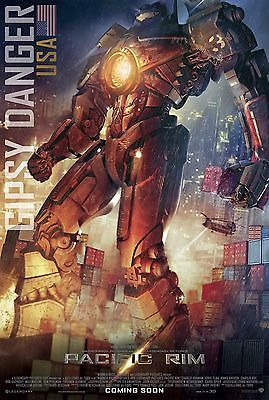"""PACIFIC RIM 11""""x17"""" MOVIE POSTER PRINT LOT OF 5 DIFFERENT"""