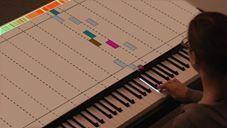 Mapping interactivo, en favor de la educación musical para aprender a tocar el piano.