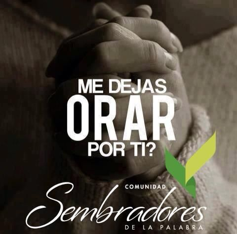 Me dejas orar por ti? frases espirituales, #frasesdelabiblia #sembradoresdelapalabra #comunidadcatolica #comunidadsempal #rccdecolombia #rccbogota http://www.sembradoresdelapalabra.com/