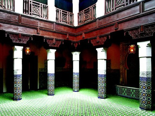Use Excursionist to plan trips to places like Morocco. Visit old craftsmanship studios or significant Islamic sites.