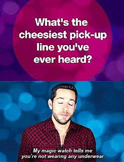 Best Pick Up Line In The World