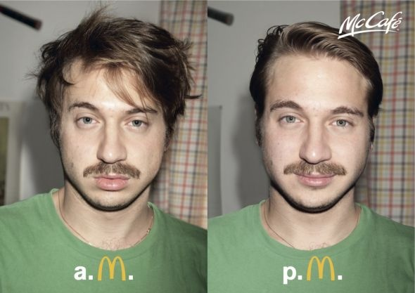 McDonald's McCafé: AM–PM, Guy