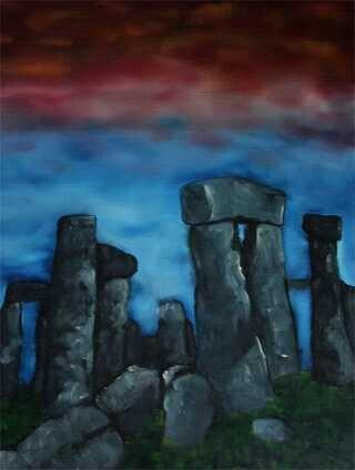 Stonehenge made by Tirza Atsma - Hoornstra