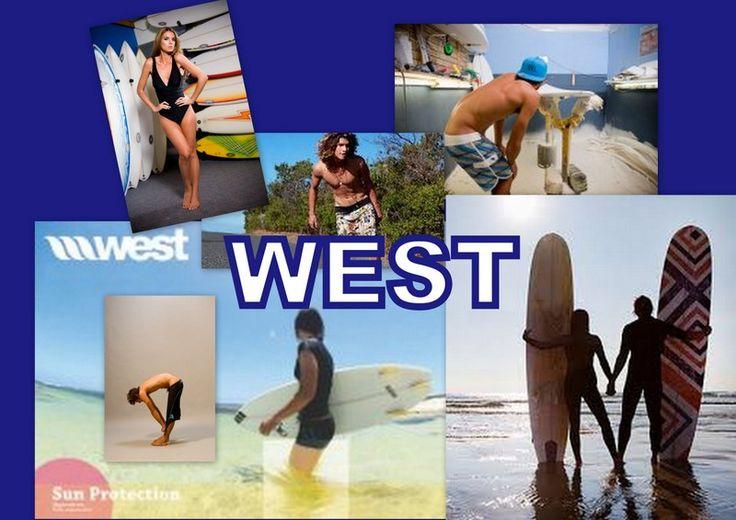 impressie......WEST .....surfkleding voor dudes.....