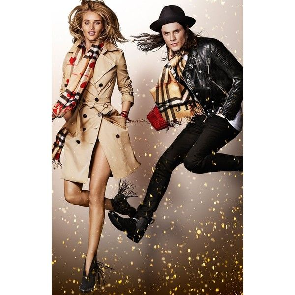 Burberry 2015 Festive Christmas Ad Campaign found on Polyvore