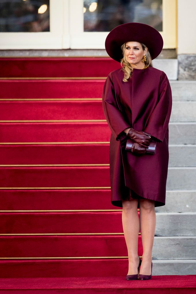 The Hague Netherlands November 14 Queen Maxima Of The
