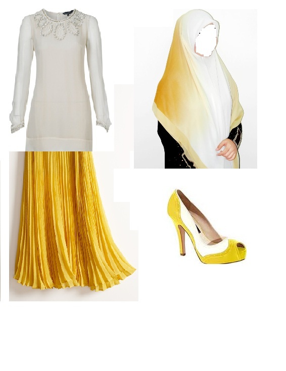 yellow n white