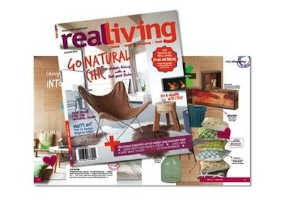 Graphic Design Diploma - Industry Awards December 2012  Real Living Magazine Design Award of Excellence - Anjo Kwakernaak
