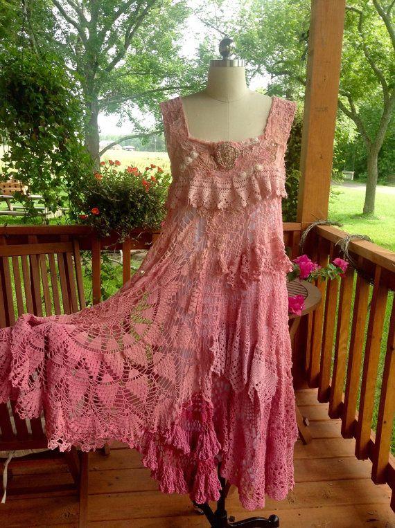 Reserved for Laura ****Tucson Sunset Dress