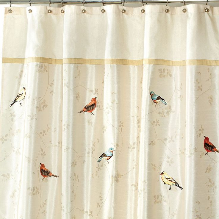 25 Best Bird Shower Curtain Ideas On Pinterest