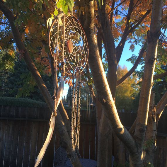 THE BULL masculine dreamcatcher bohemian by FeathersandFolly