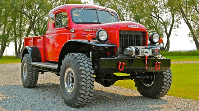 1946 Dodge Power Wagon gets a modern makeover Read more: http://www.foxnews.com/leisure/2012/11/01/legacy-power-wagon-is-reborn-american-classic/?intcmp=features#ixzz2AzeHz6YL