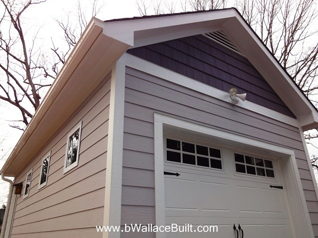 Detached Single Car Garage Can Also Be Used As More