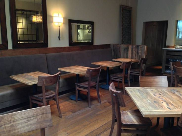 Reclaimed Wood Restaurant Tables Black S Farmwood