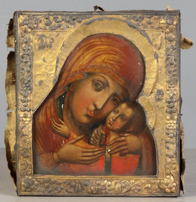 Early Russian Icon : Lot 564