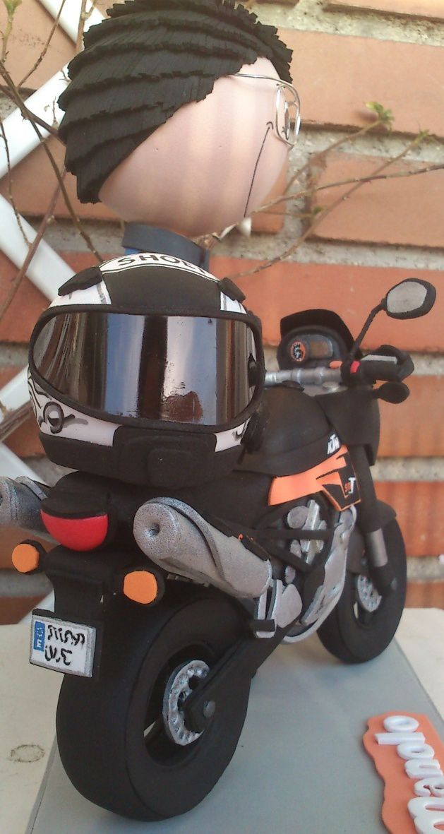 Moto KTM 01