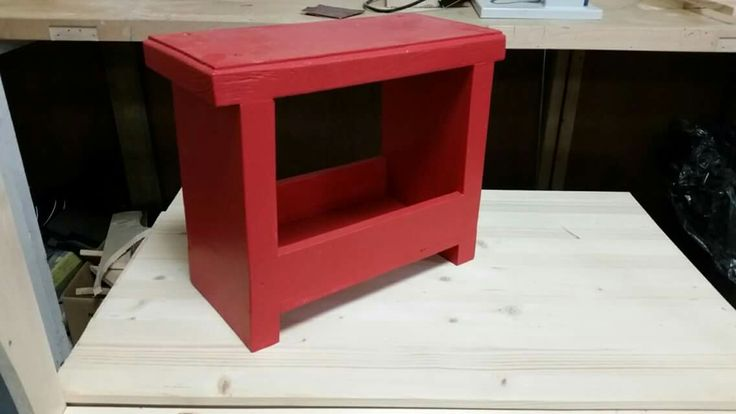 Footstool with storage