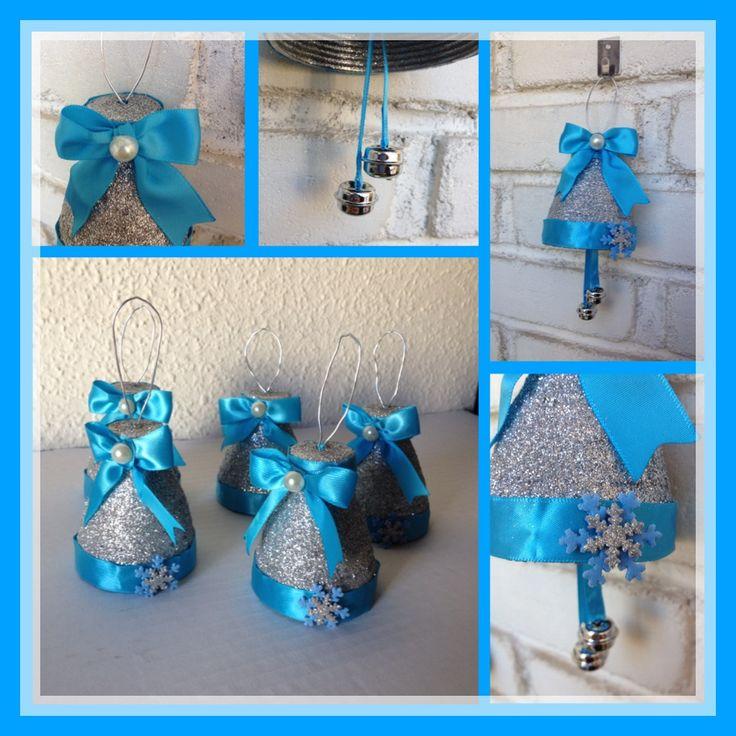 Campanas navide as con botellas de plastico o pet - Campanas de navidad ...